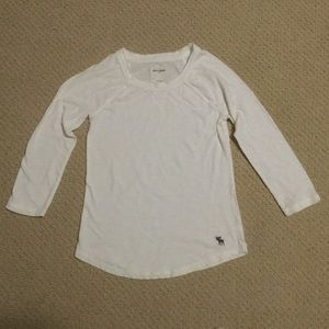 Abercrombie white top